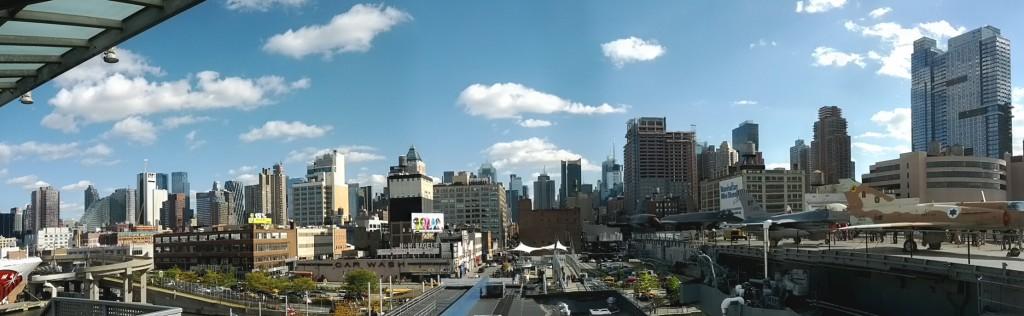 NY von der Westseite betrachet