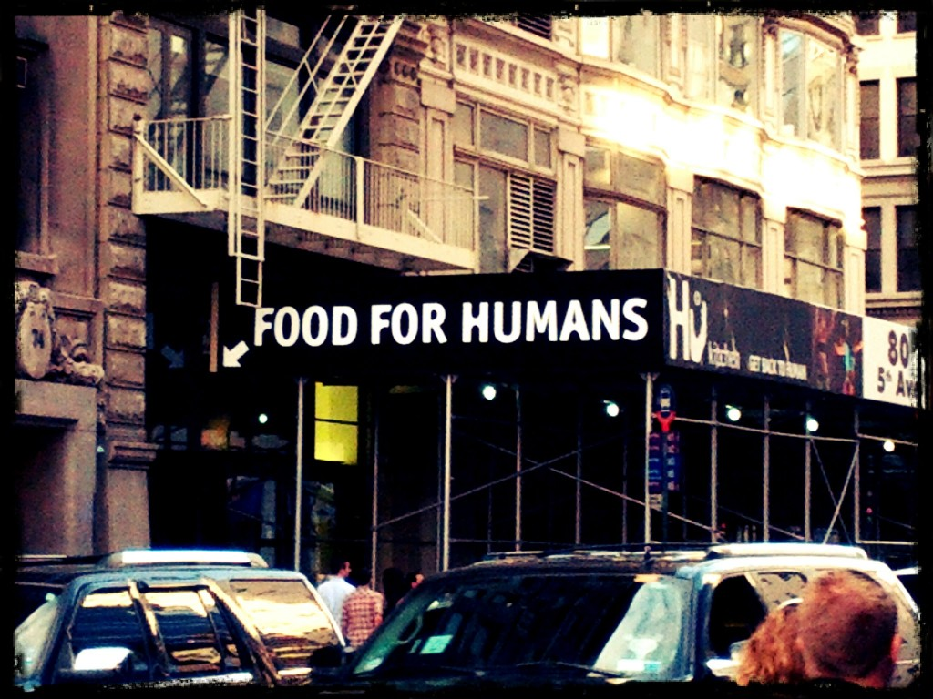 Food for humans