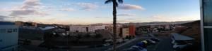 Aussicht vom Optik-Gebäude