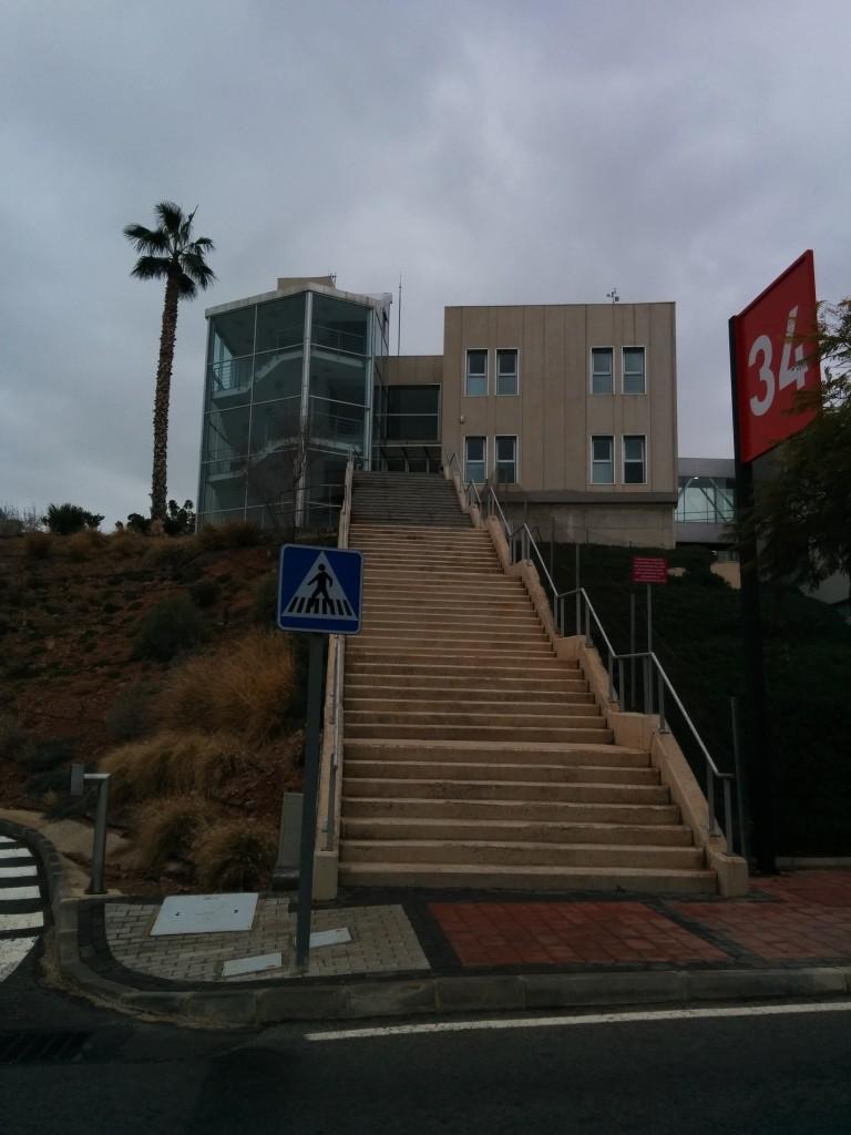 62 Treppenstufen