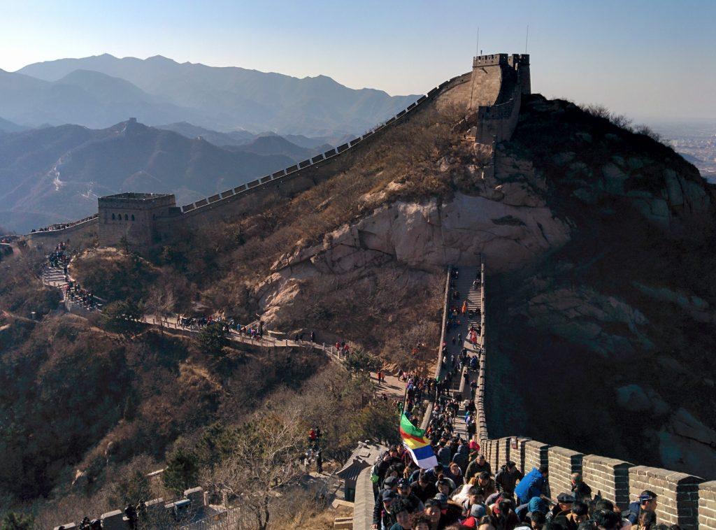 Die Mauer in Badaling